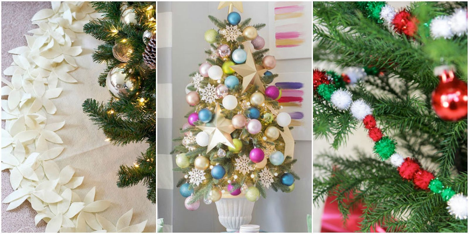 17 unique christmas tree decorations 2016 ideas for for Decoration xmas tree