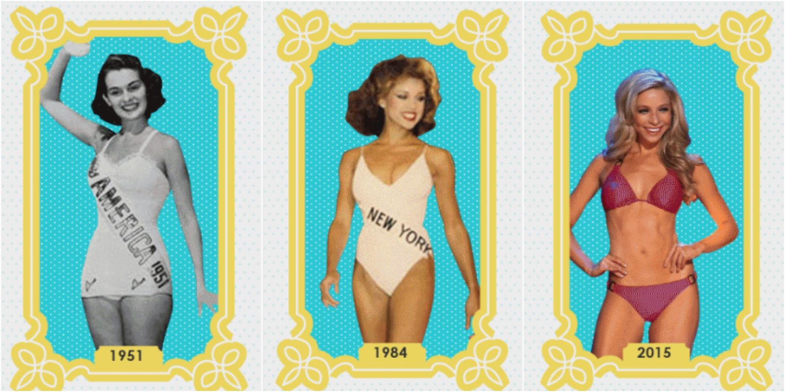 Miss America Bodies Have Changed Over Years
