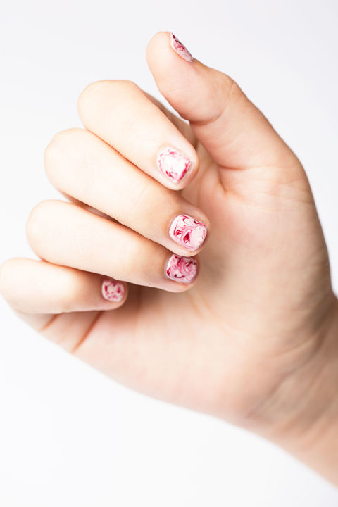 12 easy nail designs simple nail art ideas you can do yourself marble nails prinsesfo Choice Image