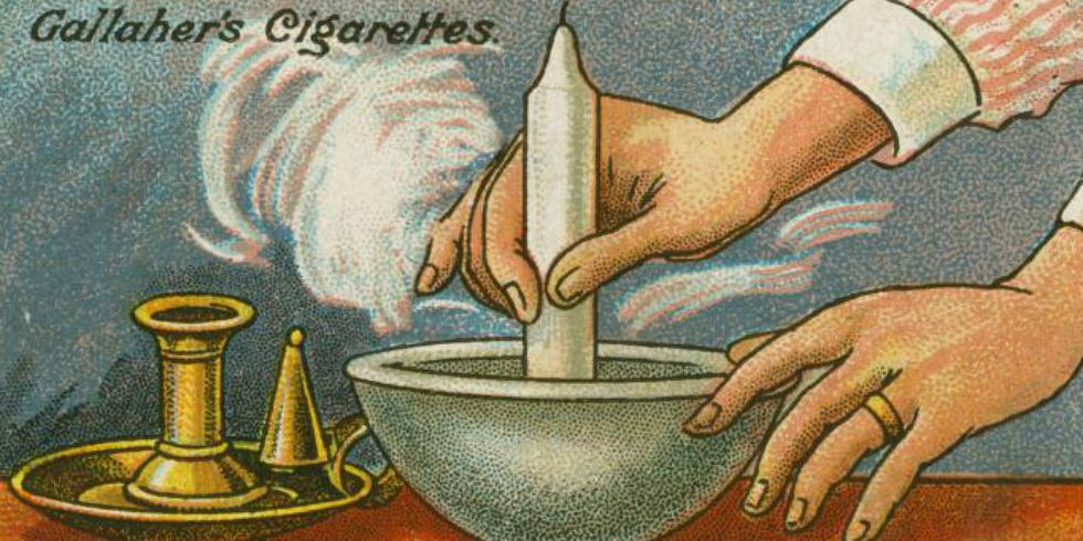 Vintage home tips on cigarette cards 1910 household hacks for Household hacks