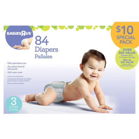 Babies r us deals on diapers