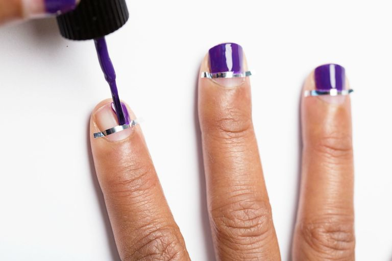 Easy Nail Designs To Do At Home. Interesting Step By Step Nail ...