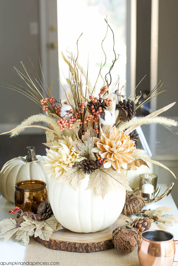 Marvelous 27 Easy Thanksgiving Centerpieces For Your Holiday Table   DIY Thanksgiving  Table Decoration Ideas