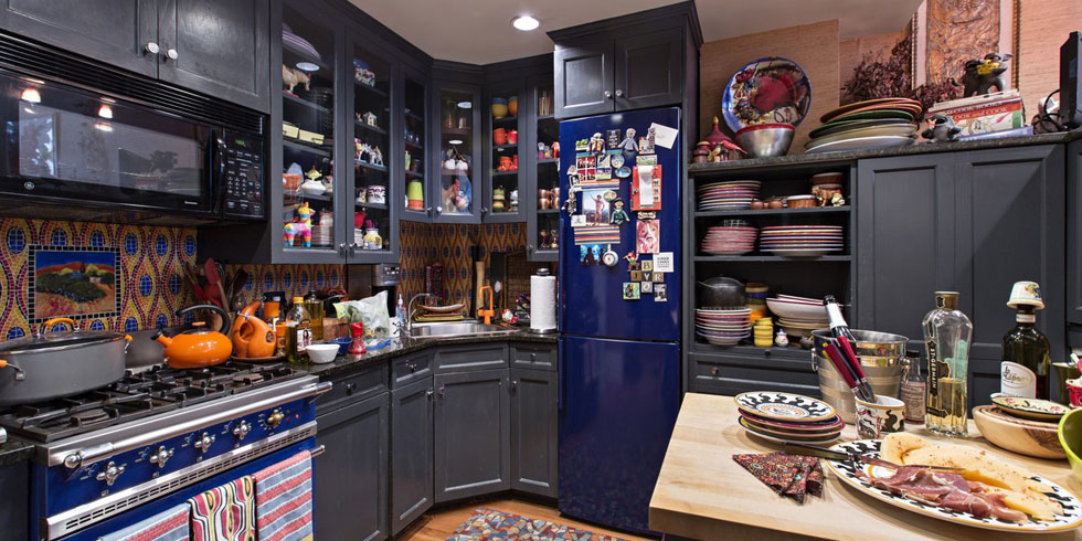 Rachael Ray Home Tour Rachael Ray S Small Kitchen In New