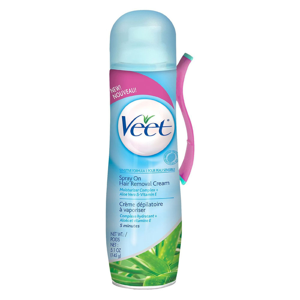 Veet spray on hair removal cream sensitive formula review for Health craft cookware reviews