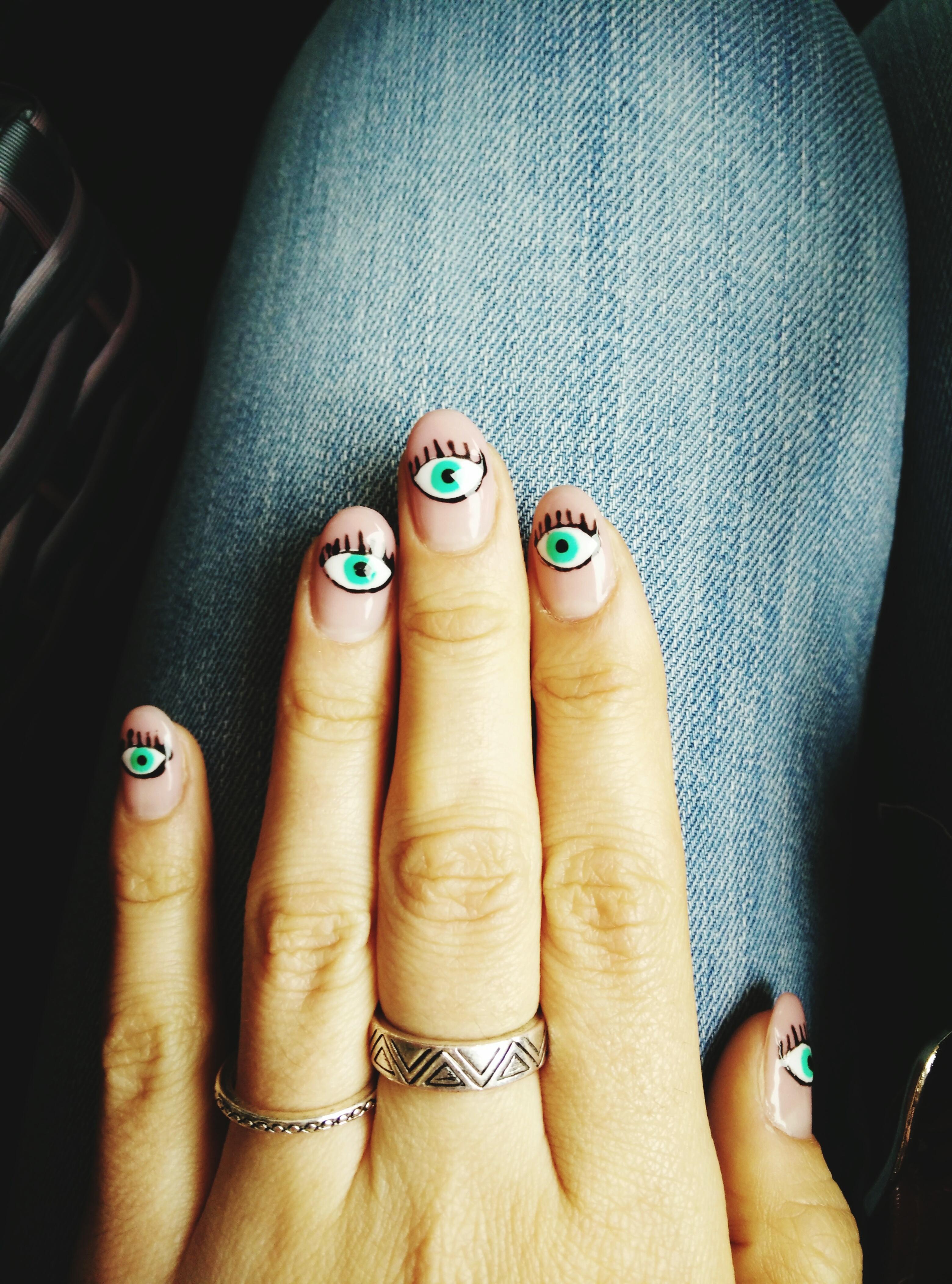 55 halloween nail art ideas easy halloween nail polish designs prinsesfo Gallery