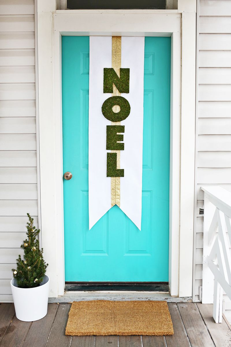 24 Christmas Door Decorating Ideas Best Decorations For