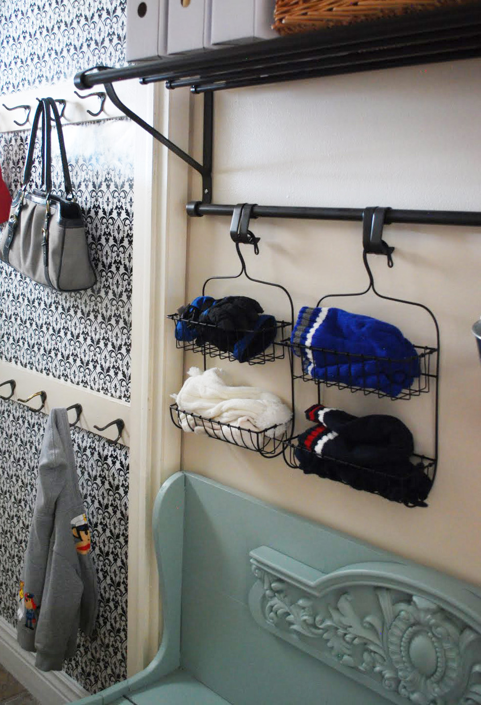 Shower Caddy Organize Hats Gloves