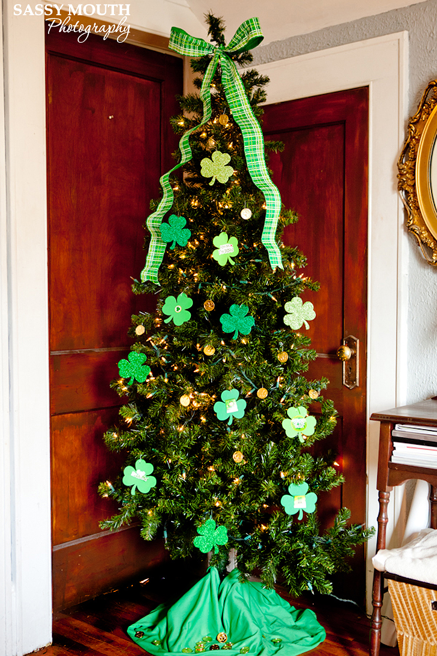 Holiday trees to decorate your home all year holiday for St patricks day decorations for the home