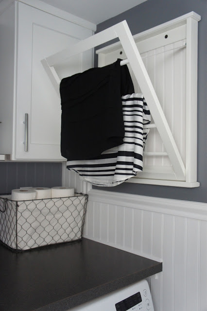 10 small laundry room organization ideas storage tips Laundry room drying rack ideas