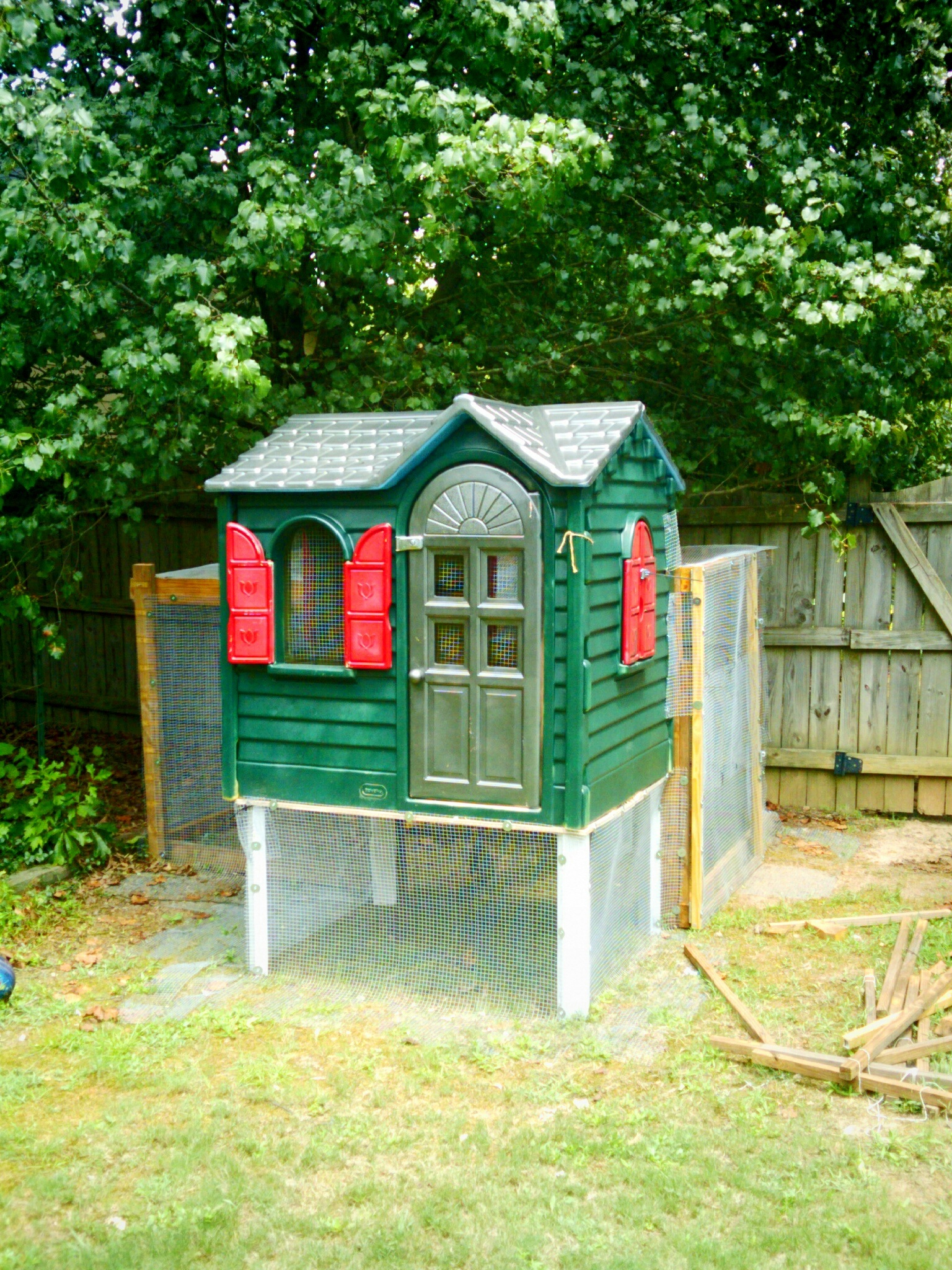 Little Tikes Playhouse Makeovers DIY Playhouse