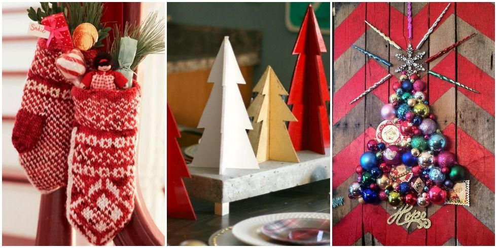 41 diy christmas decorations christmas decorating ideas for Easy to make christmas decorations at home