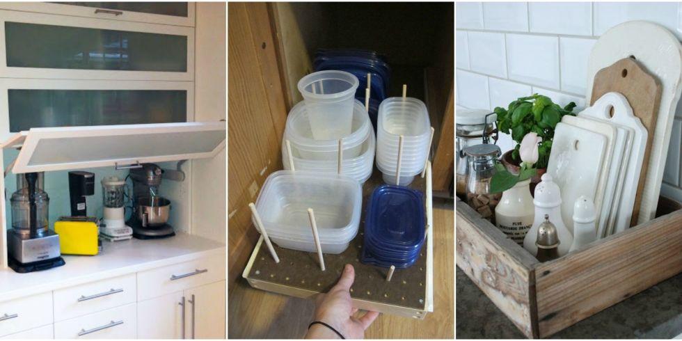 12 ways to deal with the most annoying kitchen storage problems - Kitchen Organizer Ideas