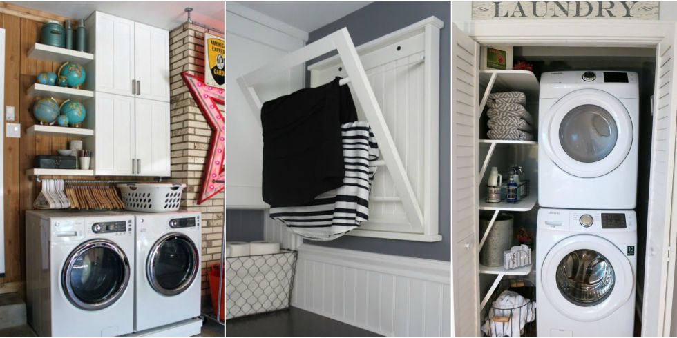 How To Organize A Small House project house to home: small space laundry organization on