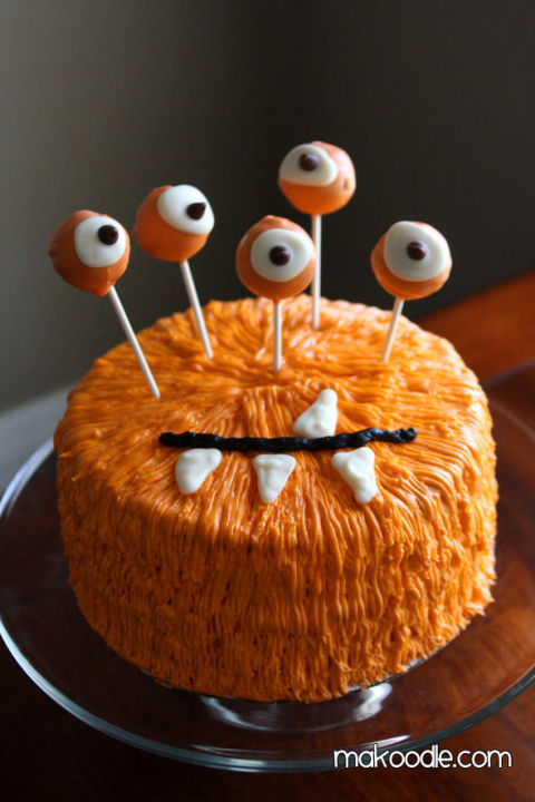 Easy Cake Decorating Halloween : 16 Halloween Desserts for 2015 - Easy Recipes for ...