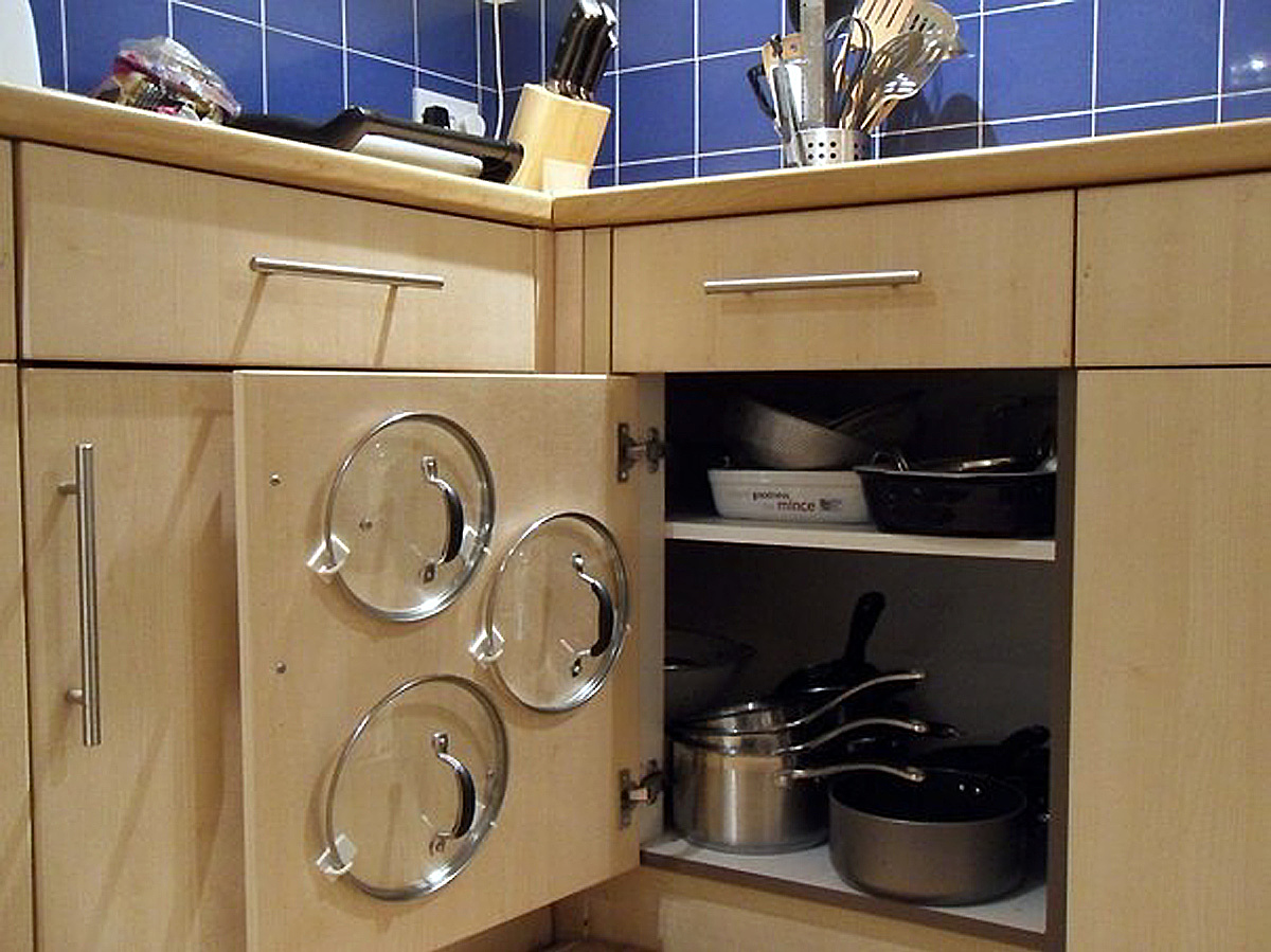 Kitchen Storage For Pots And Pans Kitchen Storage Solution For Annoying Tools Kitchen Organization