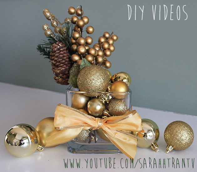 35 diy christmas table decorations and settings 2016 centerpieces ideas for your christmas table - Holiday Table Decorations Christmas