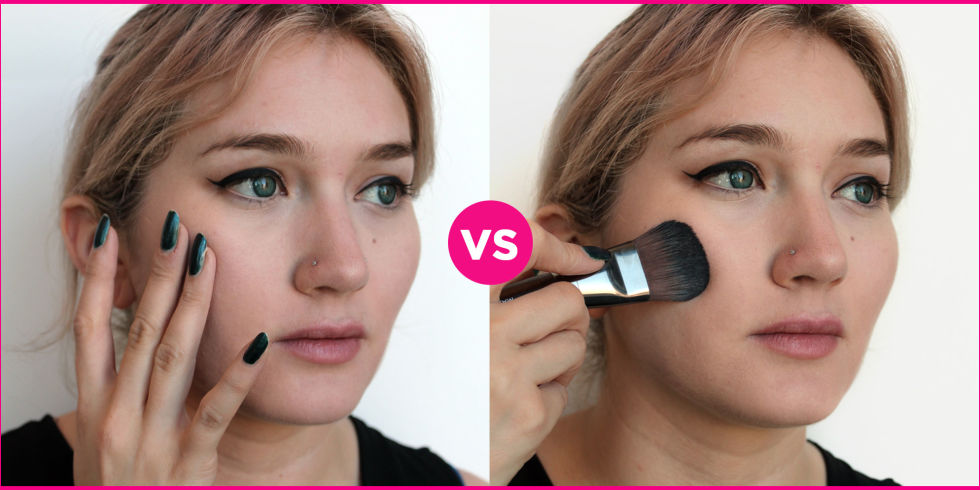 Why You Should Apply Foundation With a Brush Instead of Fingers ...