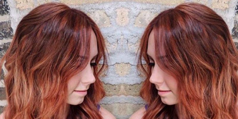 Beliebt Pumpkin Spice Hair Color Trend - Gingersnap Hair Color Photos UH09