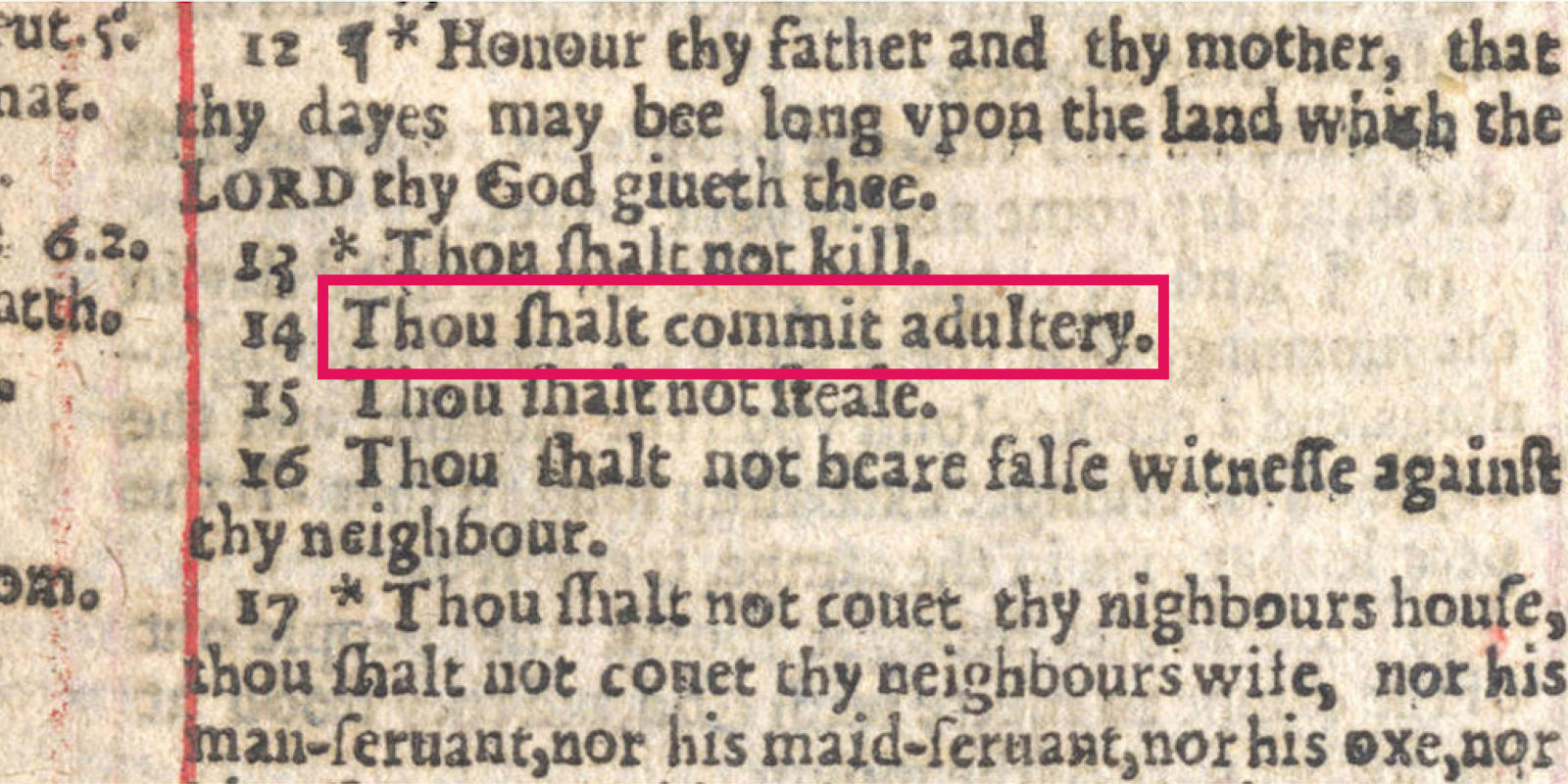 typo in the bible made adultery mandatory reader u0027s digest