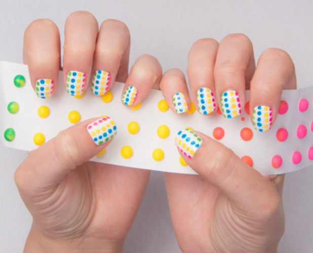 Going Dotty - 12 Candy Nail Art Designs — Dessert And Food Nail Art Ideas