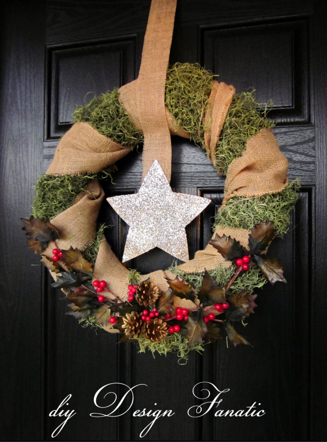 DIY Christmas Wreaths How To Make A Holiday Wreath Craft - Ideas for decorating christmas wreaths