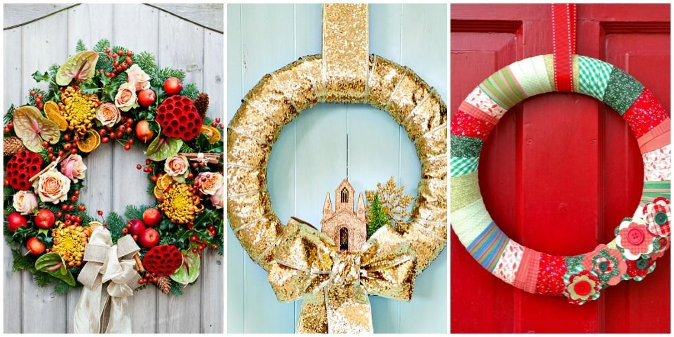 55 diy christmas wreaths to get you in the holiday spirit