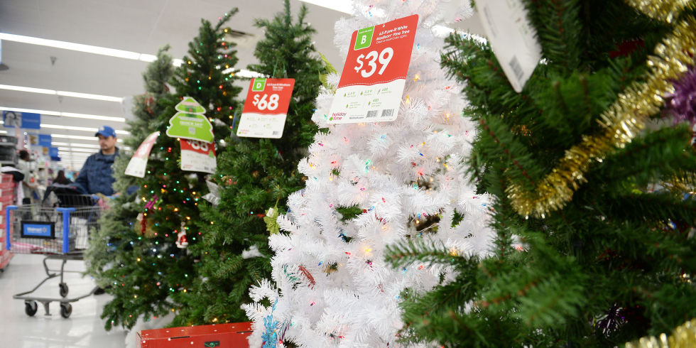 christmas trees on sale at walmart - Christmas Tree Target