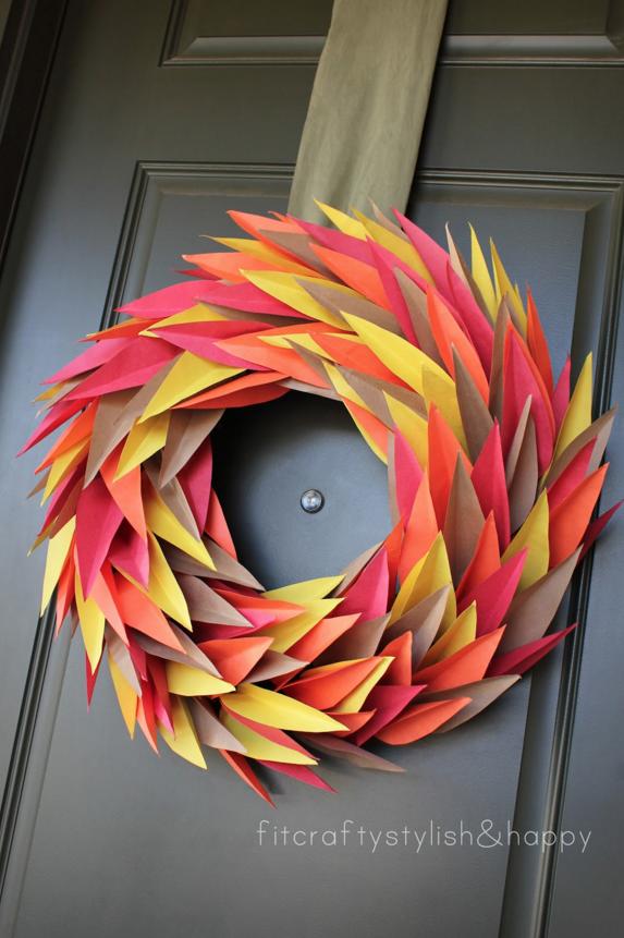 Paper Door Decorations