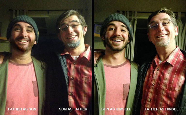 Father and Son Dress Up as Each Other for Halloween - Reddit Viral ...