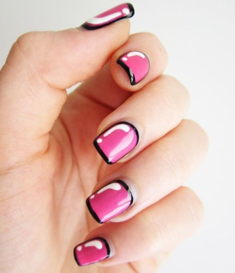 Funny Nail Art: 26 Epically Funny Pinterest Manicure Fails