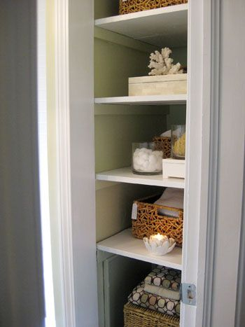 bathroom linen closet.  Linen Closet Organization Tricks How to Organize Your