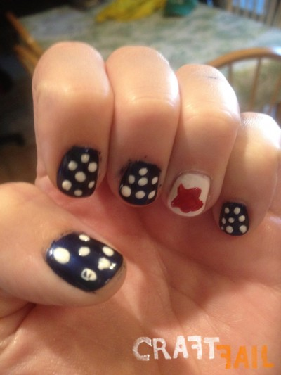 26 epically funny pinterest manicure fails pinterest nail art fails sciox Gallery