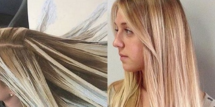 What is fluid hair painting the new hair coloring technique for Fluid hair painting