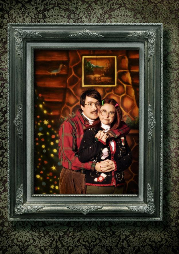 25 Funny Christmas Card Ideas - Family Christmas Card Photos