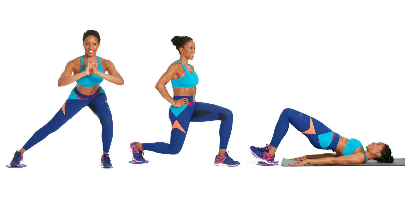 Glide Your Way To Leaner Legs With These 3 Moves 3
