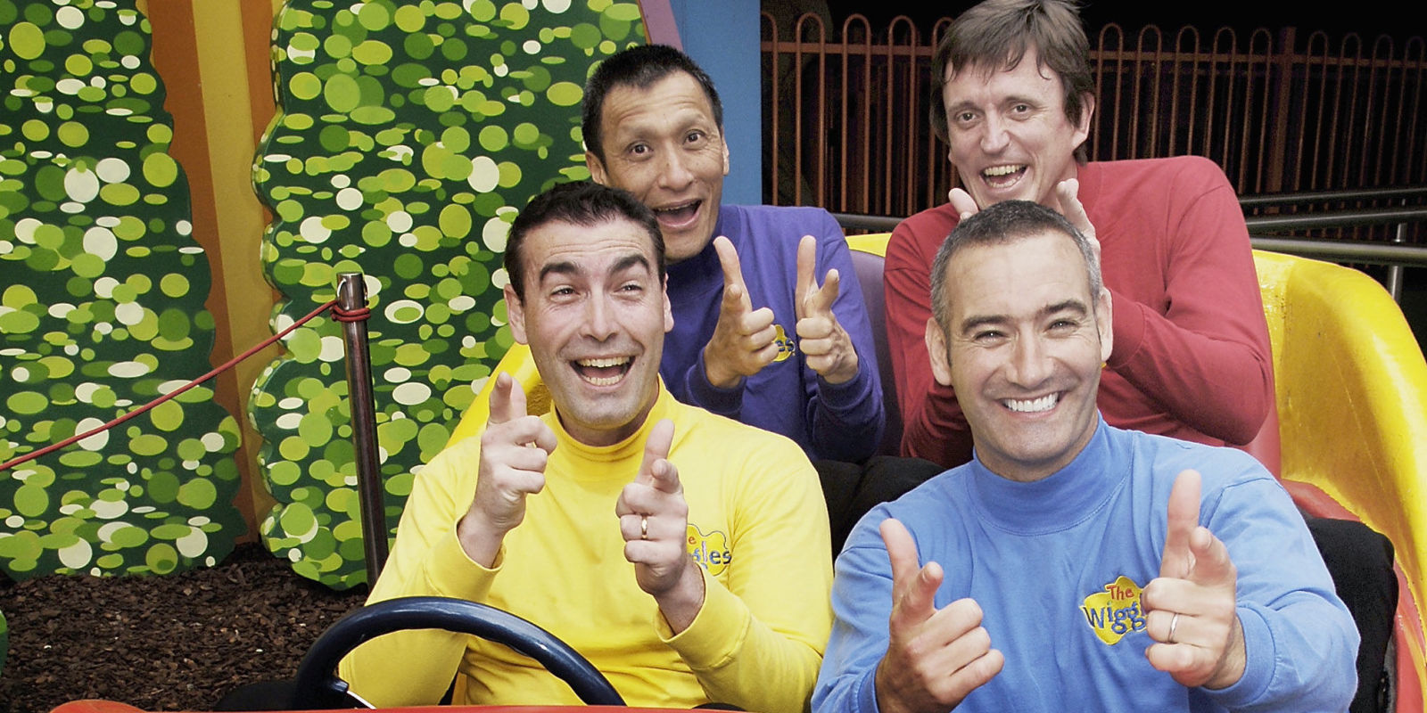 The Original Wiggles Reunite For Adults Wiggles Group