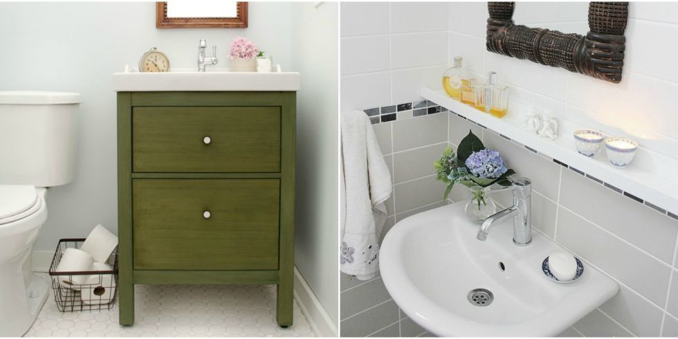 Ikea bathroom hacks new uses for ikea items in the bathroom for Good housekeeping bathroom ideas