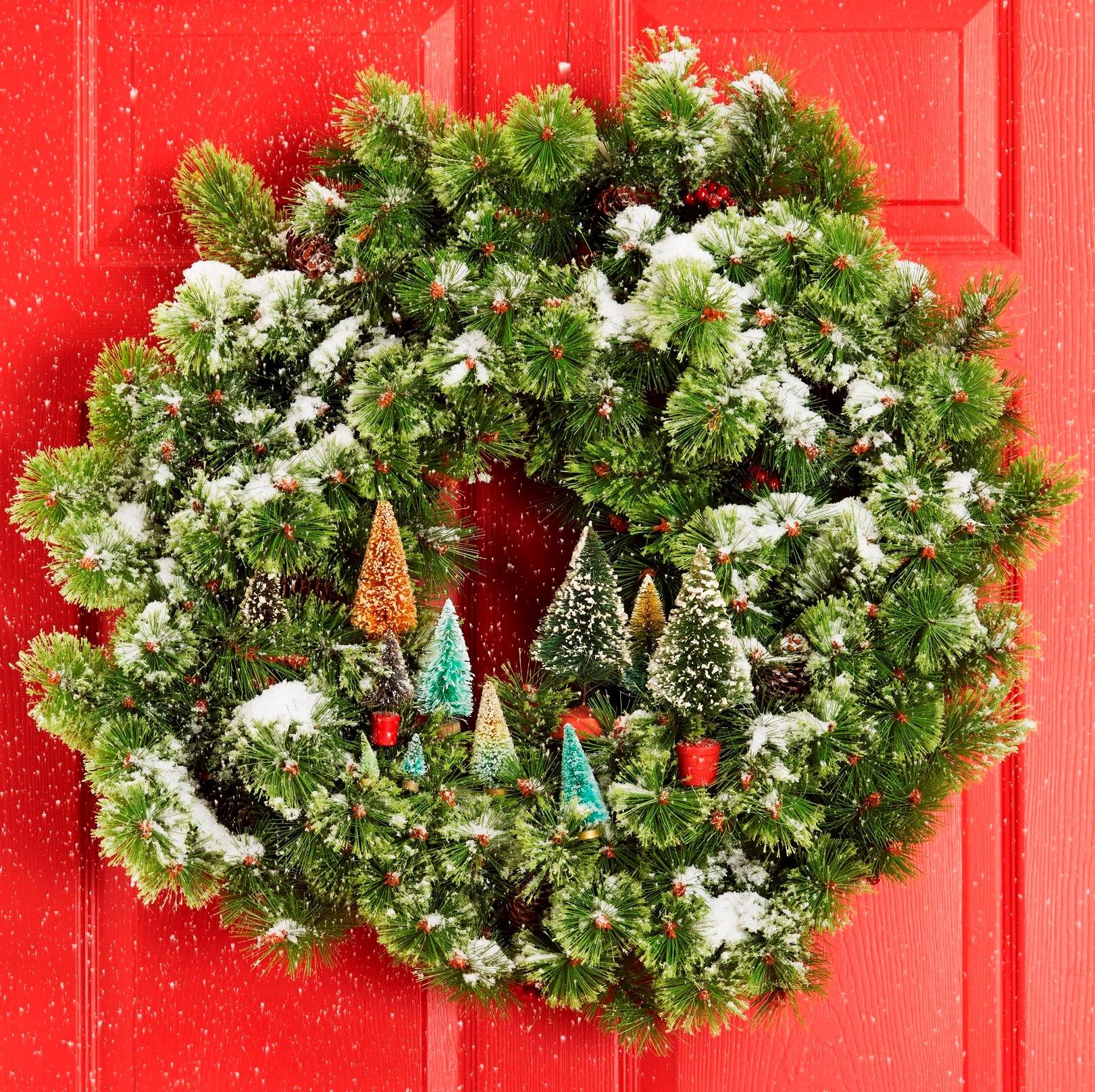 Diy Christmas Tree Wreath Part - 31: Good Housekeeping
