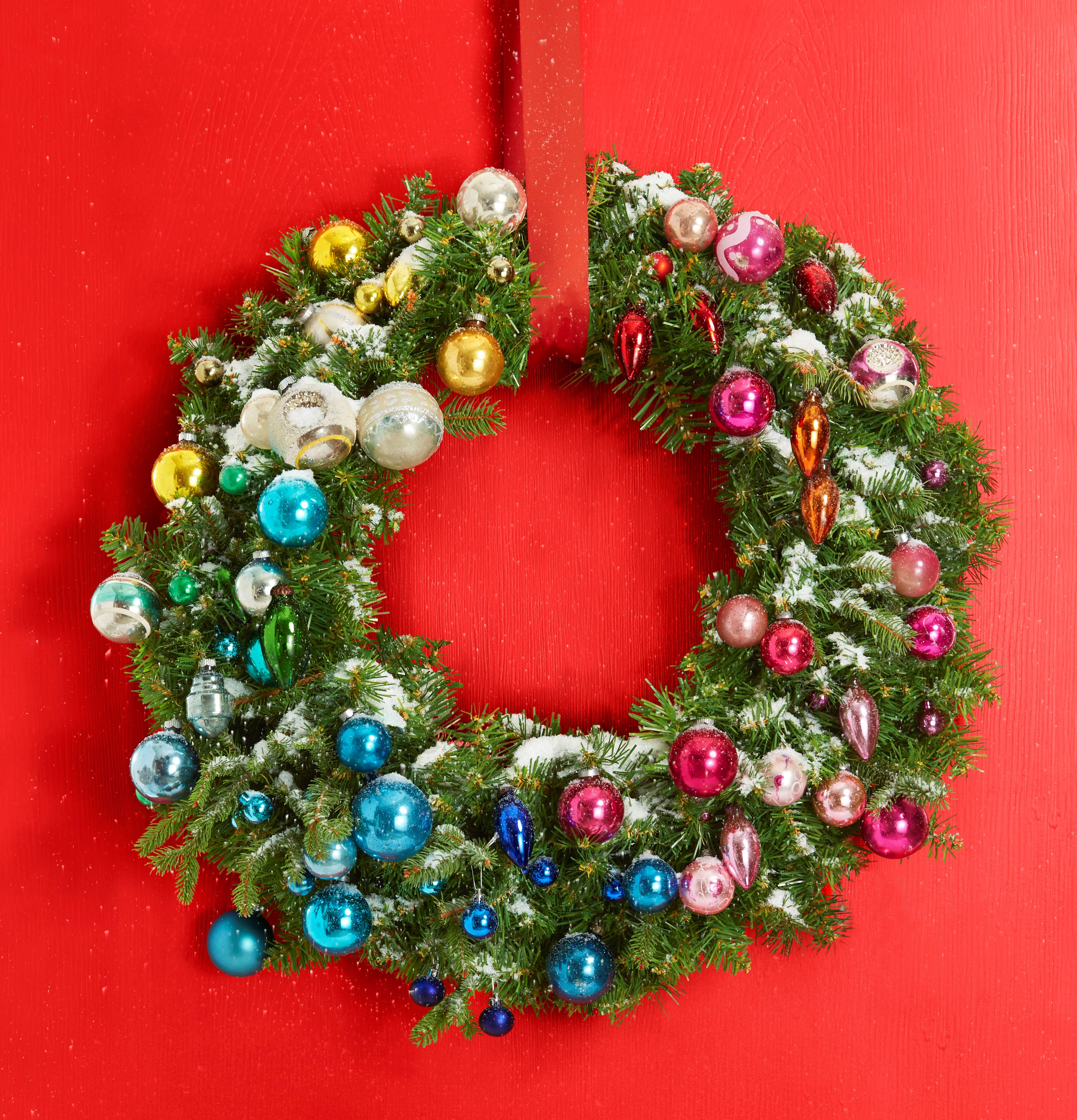 48 diy christmas wreaths holiday decor and crafts Christmas wreath decorations