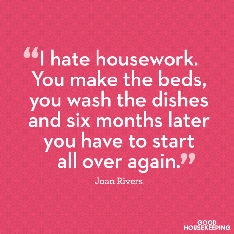 Housekeeping Quotes Delectable 11 Famous Quotes About Cleaning And Organizing  How You Feel