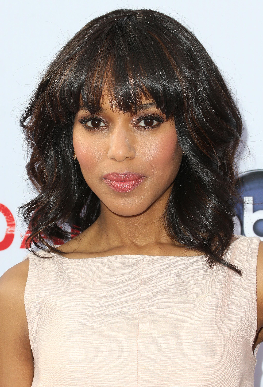 Phenomenal 25 Hairstyles With Bangs Photos Of Celebrity Haircuts With Bangs Short Hairstyles For Black Women Fulllsitofus
