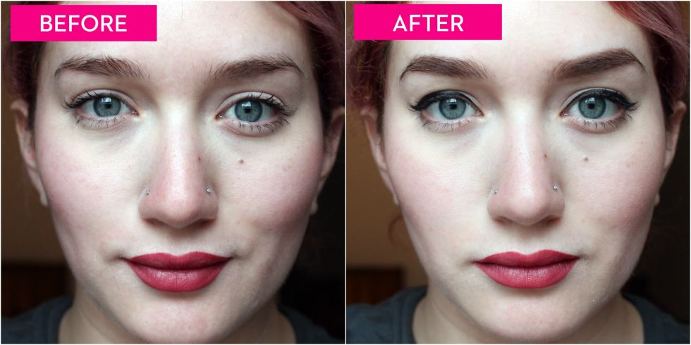 how to change your eyebrow shape without makeup