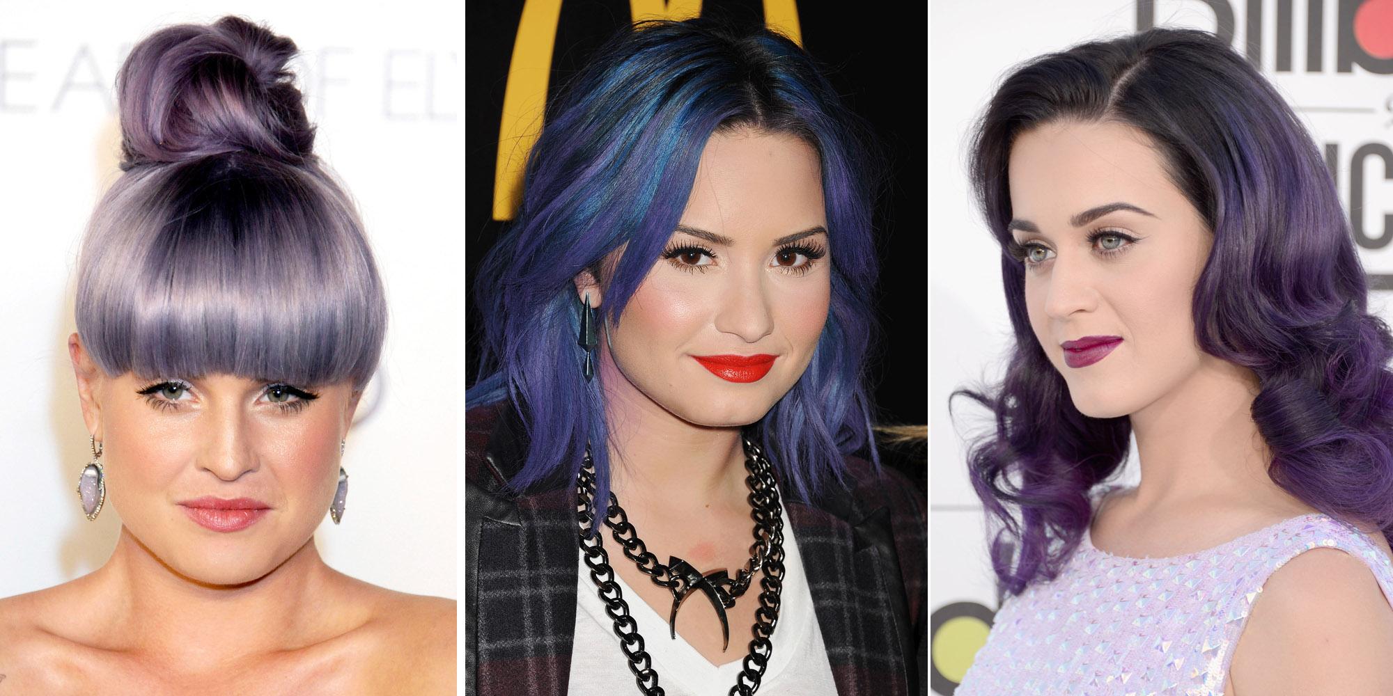 22 beautiful purple hair color ideas � purple hair dye