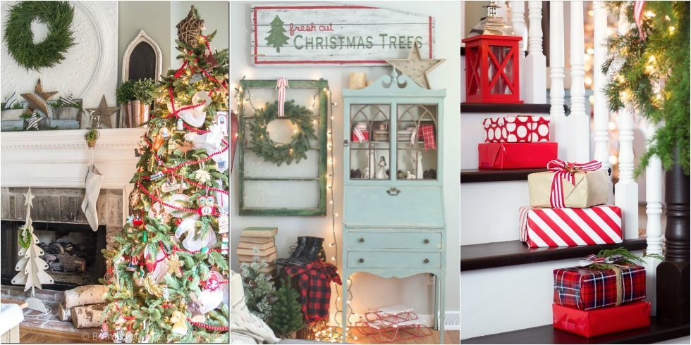 Christmas Homes christmas decor ideas - bloggers christmas home tours