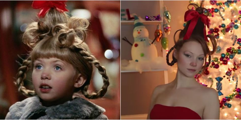 Cindy Lou Who Hair Tutorial — How to Do Cindy Lou Who's Hair and ...