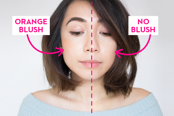 Korean beauty trends how to do puppy liner orange blush and a little color goes a long way ccuart Images