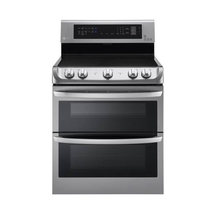 Lg 7 3 Cu Ft Electric Double Oven Range Lde4415st Review