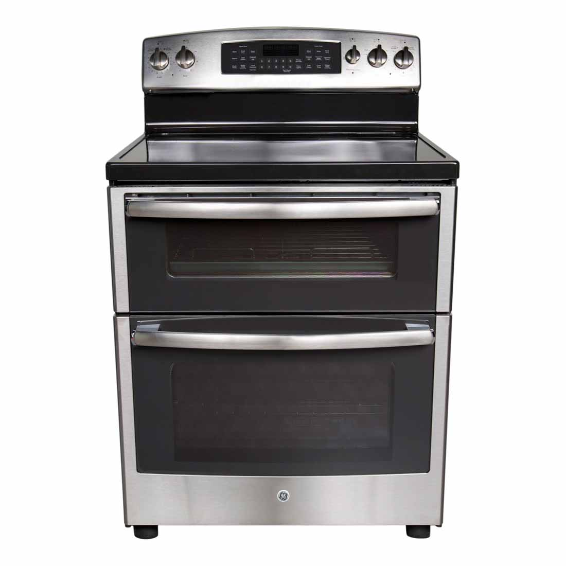 Uncategorized Kitchen Appliance Reviews ge 6 cu ft stainless double oven range pb955sfss review