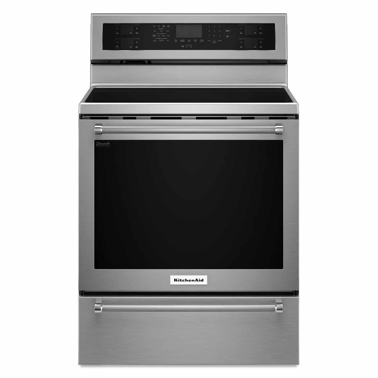 KitchenAid 30 Inch 5 Element Electric Convection Range With Warming Drawer  #KFES530ESS Review